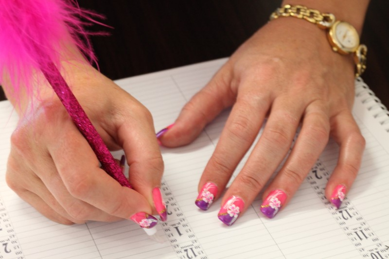 Custom Designed Nails