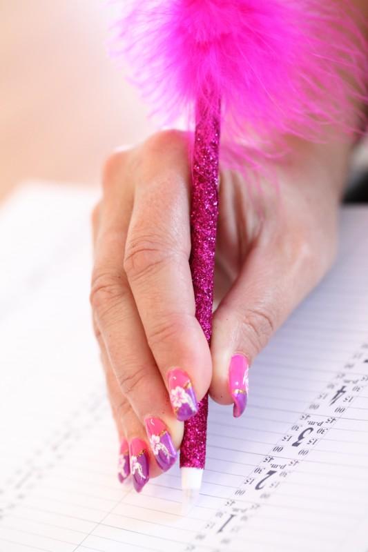 Painted Nail Art